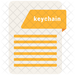 Keychain file Icon