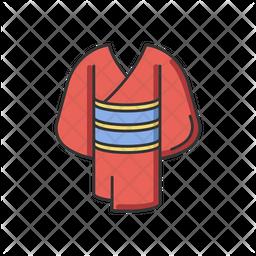 Kimono Red Icon