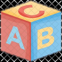Kindergarten Blocks Icon
