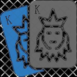 King Card Icon