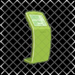 Kiosk Machine Icon