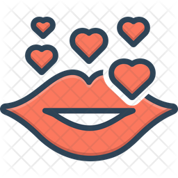 Kiss Day Icon