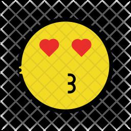 Kiss emoji Emoji Icon