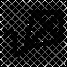 Kite Line Icon