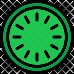 Kiwi slice Icon