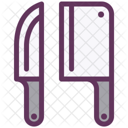Knives, Equipment, Tool, Restarunt, Kitchen, Cook Icon