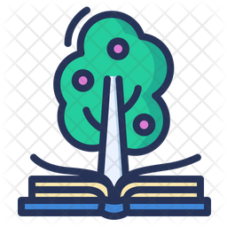 Knowledge Colored Outline Icon