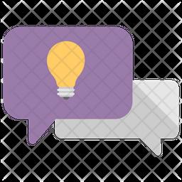 Knowledge Sharing Flat Icon