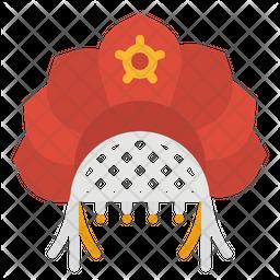 Kokoshnik Hat Icon