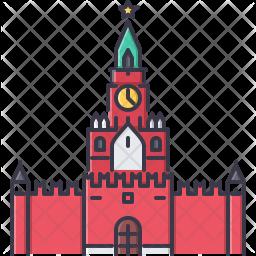 Kremlin Clock Icon