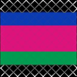 Kuban Peoples Republic Flag Icon