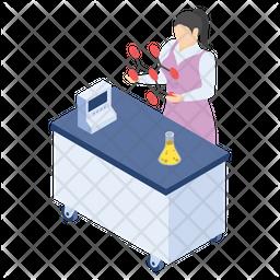 Lab Apparatus Icon