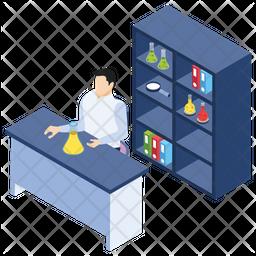 Lab Attendant Icon