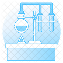 Lab Equipment Flat Icon
