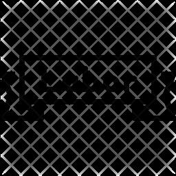 Label Line Icon
