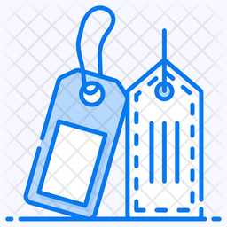 Labels Colored Outline Icon