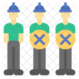 Labor Cost Reduction Flat Icon