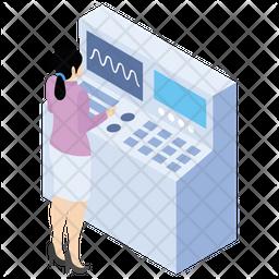 Laboratory Machine Icon
