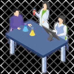 Laboratory Team Icon