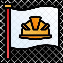 Labour Flag Icon