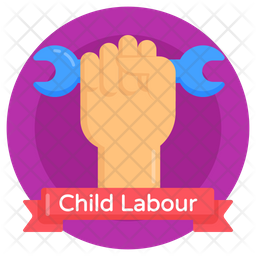 Labour Hand Icon