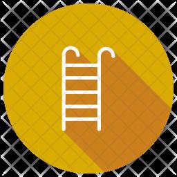 Ladder Glyph Icon