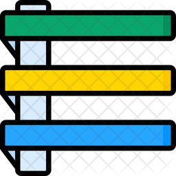 Ladder Nameplate Icon