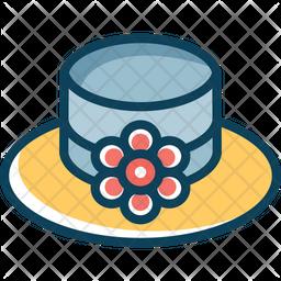 Ladies Hat Icon