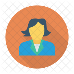 Lady Icon Of Flat Style Available In Svg Png Eps Ai Icon Fonts