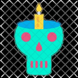 Lamp Skull Icon