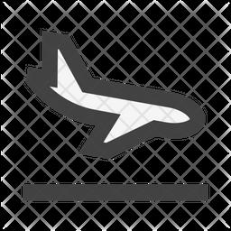 Landing Plane Icon