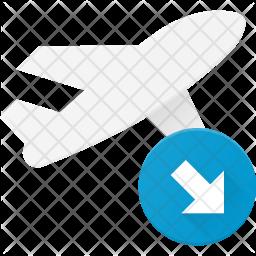 Landing takeoff Icon