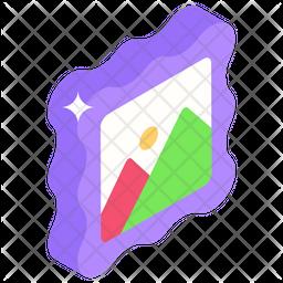 Landscape Isometric Icon