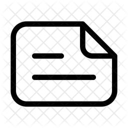 Landscape text file Icon
