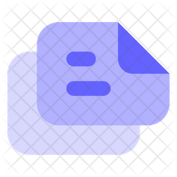 Landscape-text-files Icon