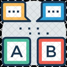 Language Learning Icon