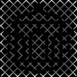 Lantern Line Icon