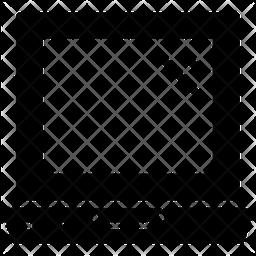 Laptop Glyph Icon