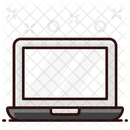 Laptop Colored Outline Icon