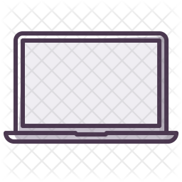 Laptop, Computer, Device, Screen, Technology, Display Icon