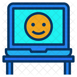 Laptop Friendly Workspace Icon