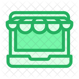 Laptop Kiosk Icon
