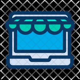 Laptop Kiosk Icon