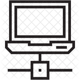 Laptop Network Icon