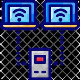 Laptop Sensors Icon