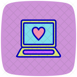 Laptop, Technology, Computer, Device Icon