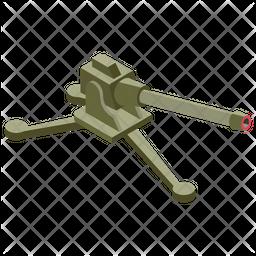 Large Gun Icon