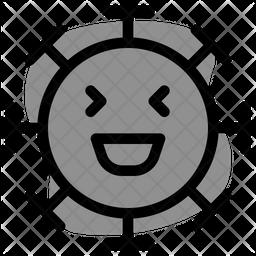 Laughing Dualtone  Emoji Icon