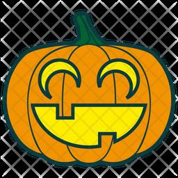Laughing Pumpkin Icon