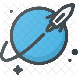 Launched rocket Icon
